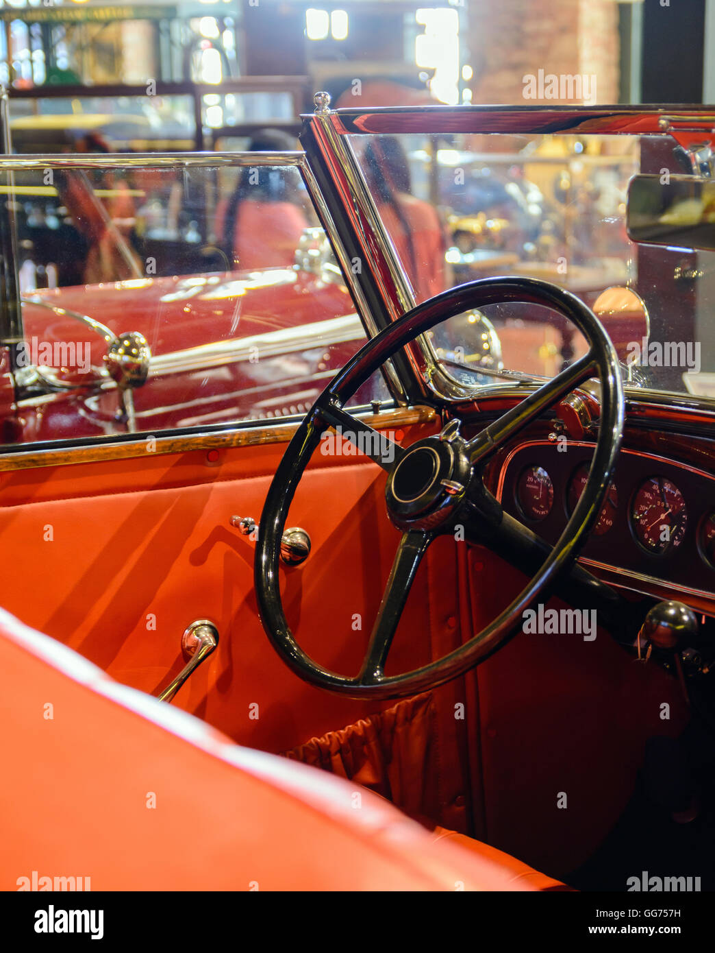 parts and pieces of the old vintage cars Stock Photo, Royalty Free ...