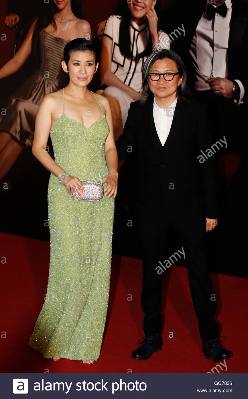 ng r stock photos ng r stock images alamy hong kong actress sandra ng and her husband director peter chan r