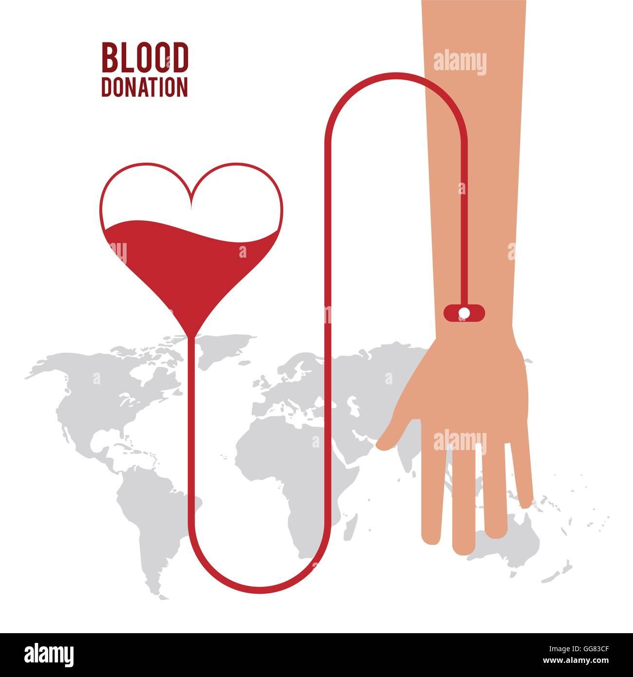Heart arm blood donation icon vector graphic stock vector art heart arm blood donation icon vector graphic buycottarizona