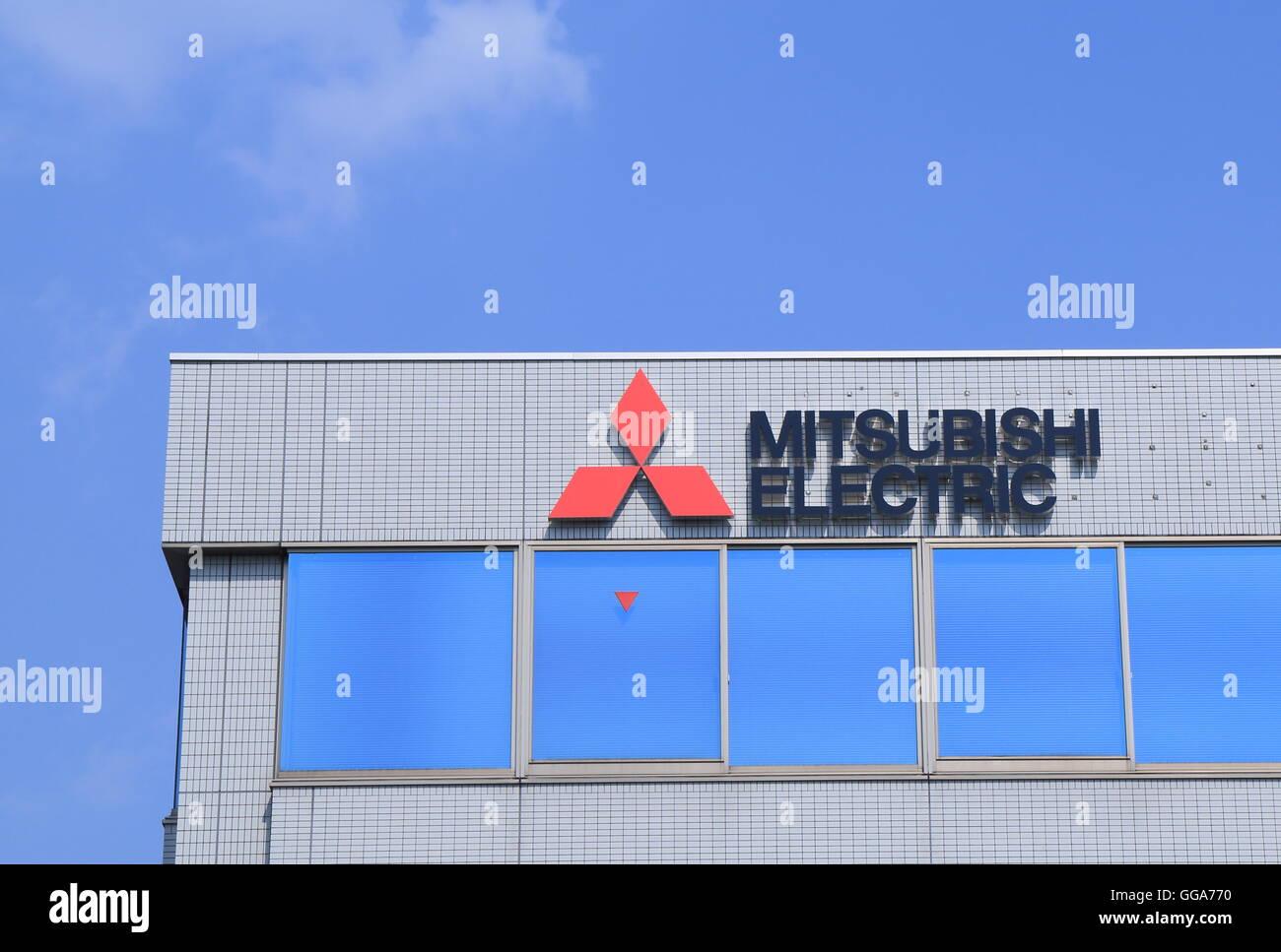 Mitsubishi Electric Company logo a Japanese multinational ...