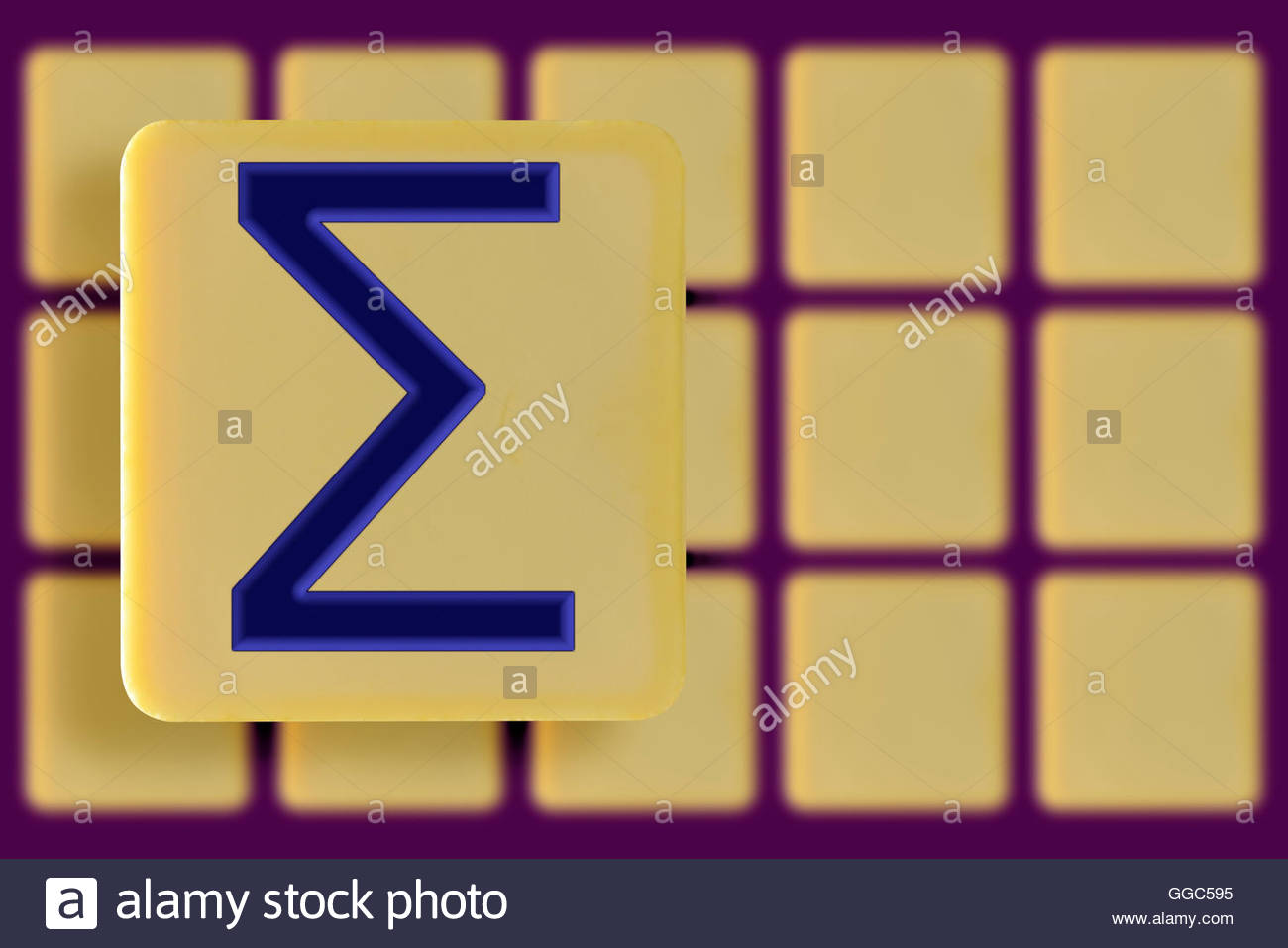 Sigma symbol on an alphabet tile dorset england britain uk sigma symbol on an alphabet tile dorset england britain uk biocorpaavc Images