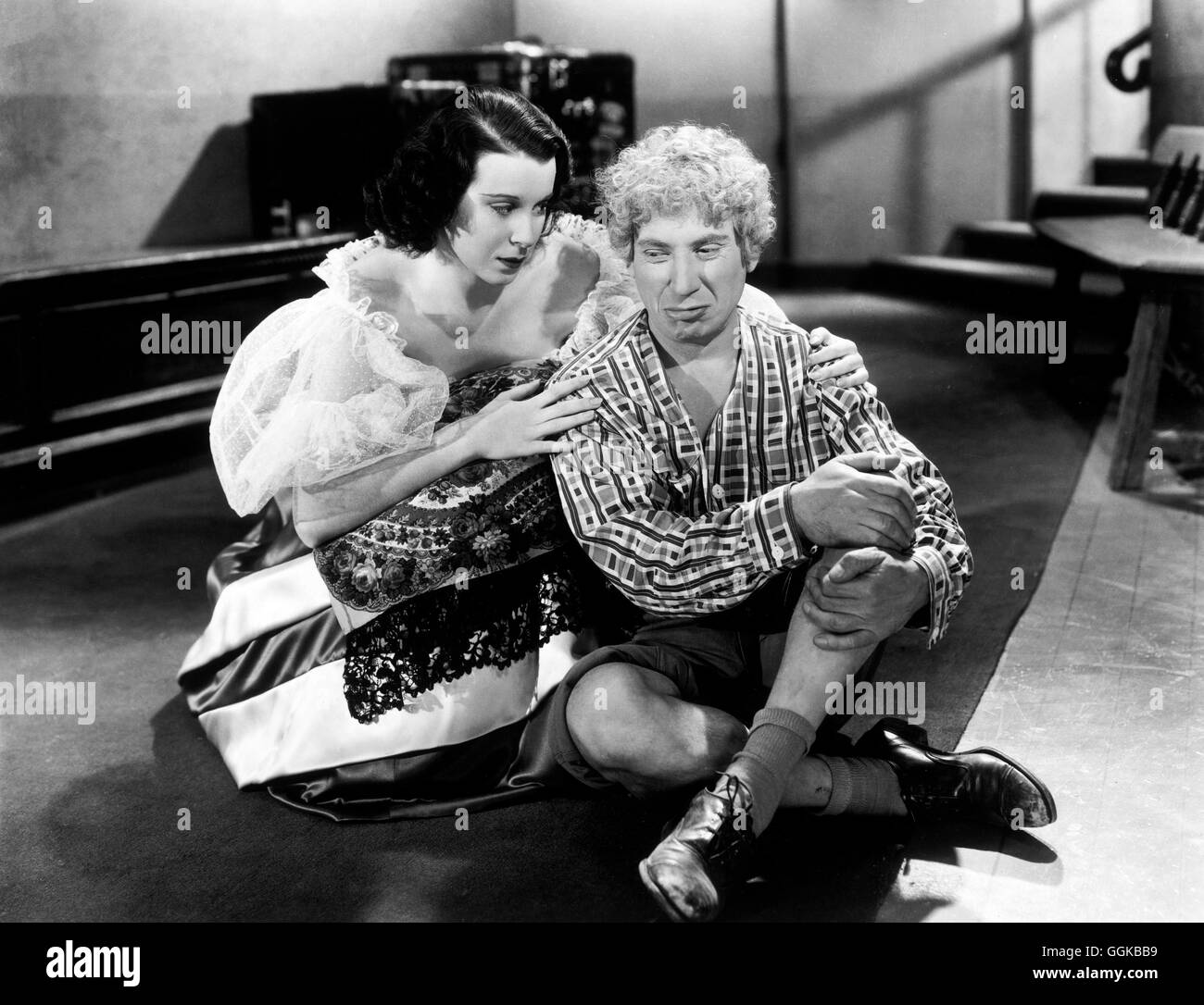 DIE MARX BROTHERS IN DER OPER / A Night at the Opera USA 1935 / Sam Stock Photo, Royalty Free ...