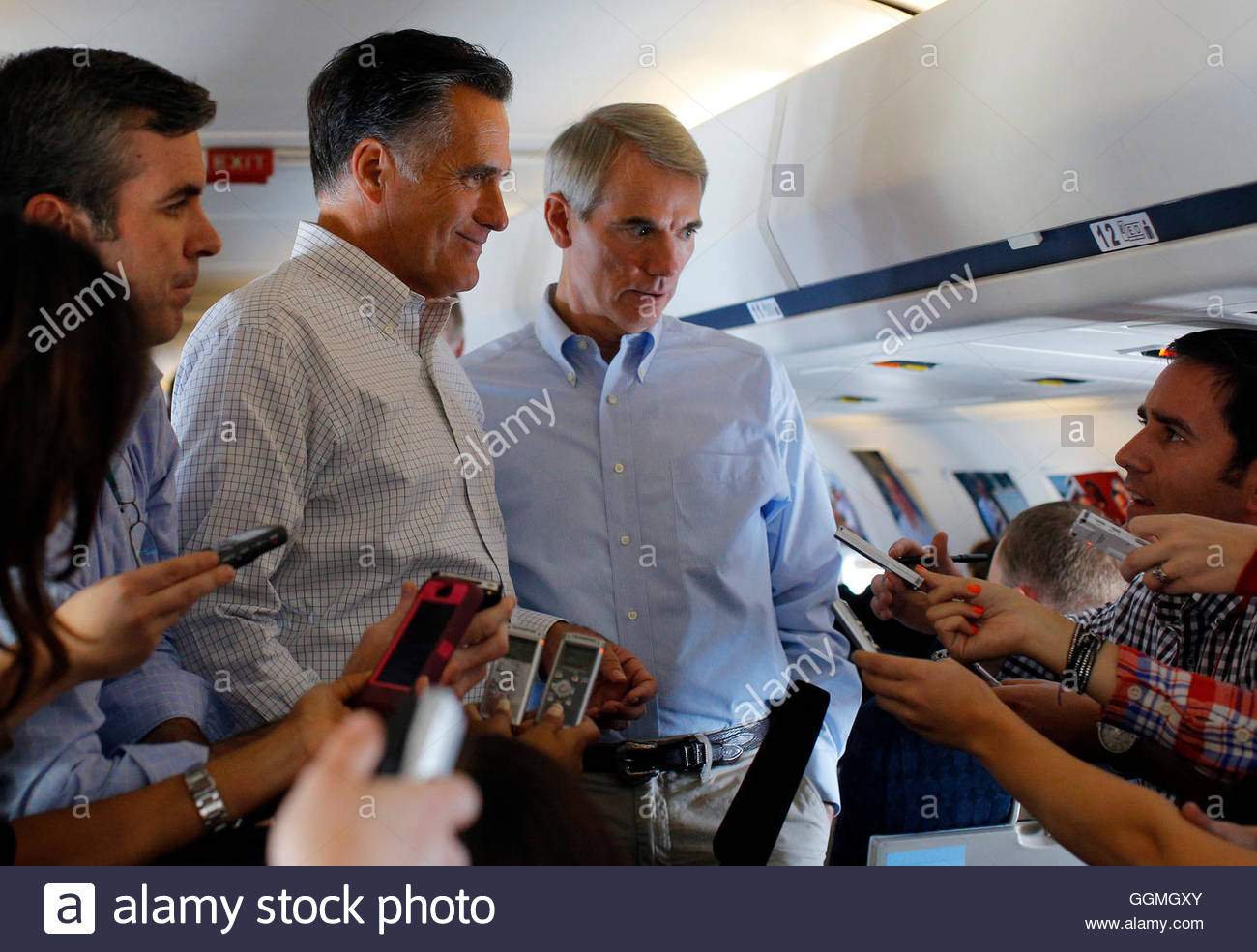 republican presidential candidate and former massachusetts republican presidential candidate and former massachusetts governor mitt romney u s senator rob portman r oh r and senior advisor kevin madden