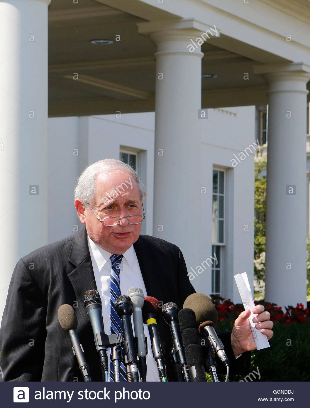 The Press Cabinet Chairman Of Senate Armed Services Committee Carl Levin Speaks To