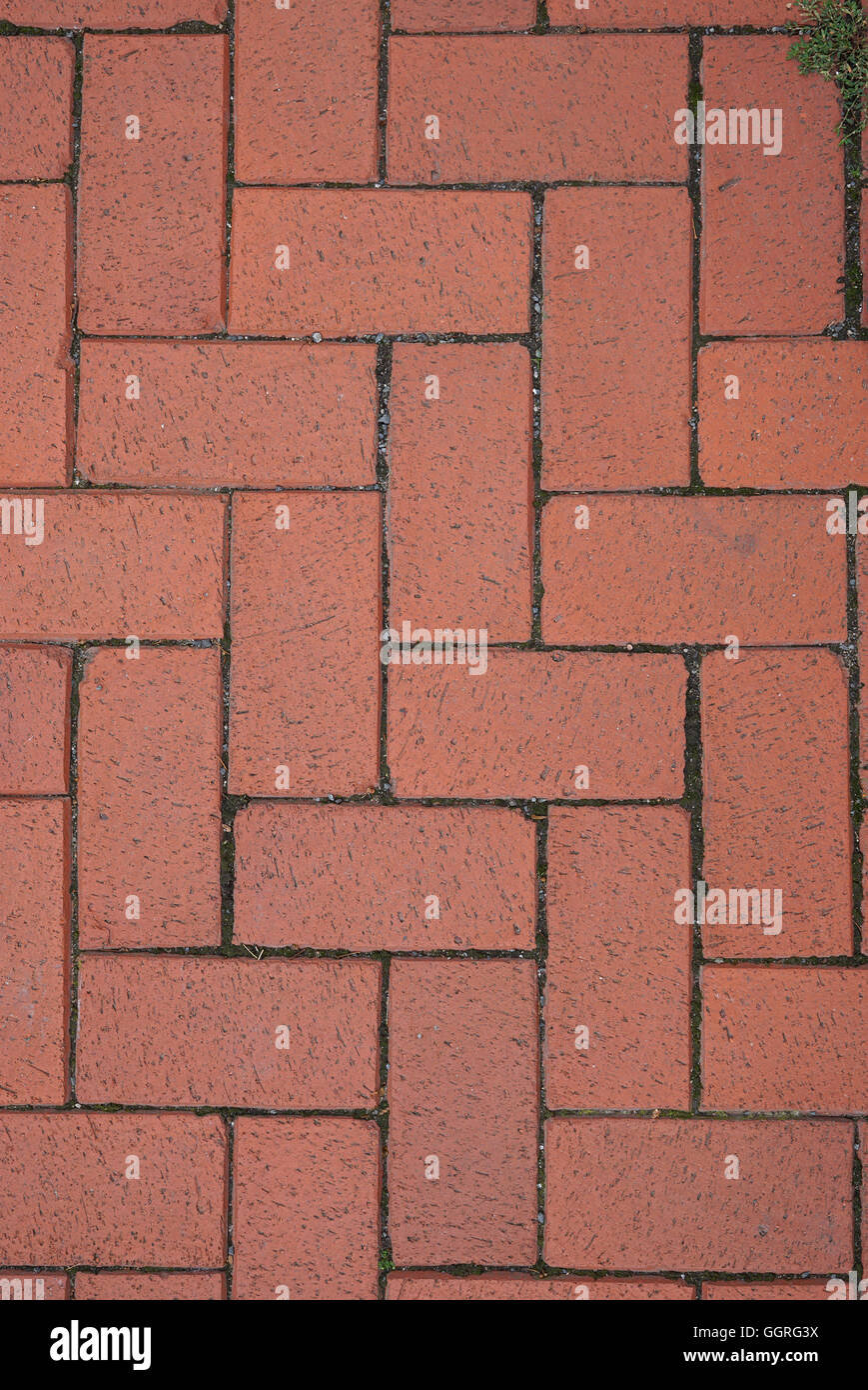 Red Paving Stones : Red brick paving stones stock photo royalty free image