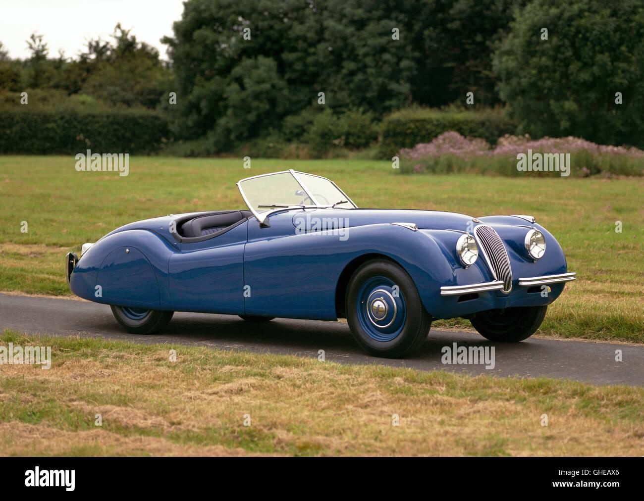 1948 Jaguar XK120 Roadster 2 Door 2 Seater 3 4 Litre Inline 6 DOHC Engine  Developing 160bhp Country Of Origin United Kingdo