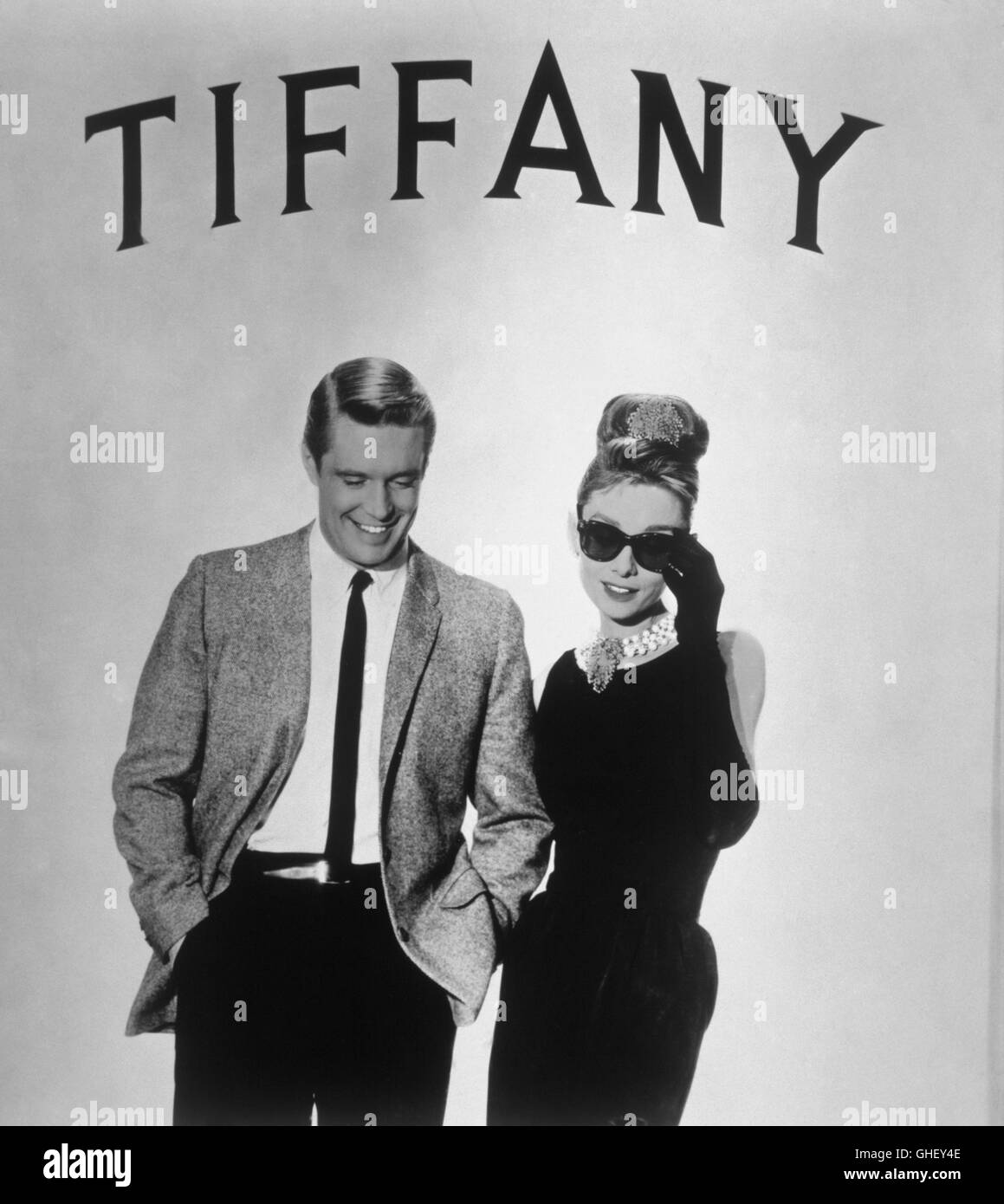 fr hst ck bei tiffany breakfast at tiffany 39 s usa 1961 blake edwards stock photo royalty free. Black Bedroom Furniture Sets. Home Design Ideas