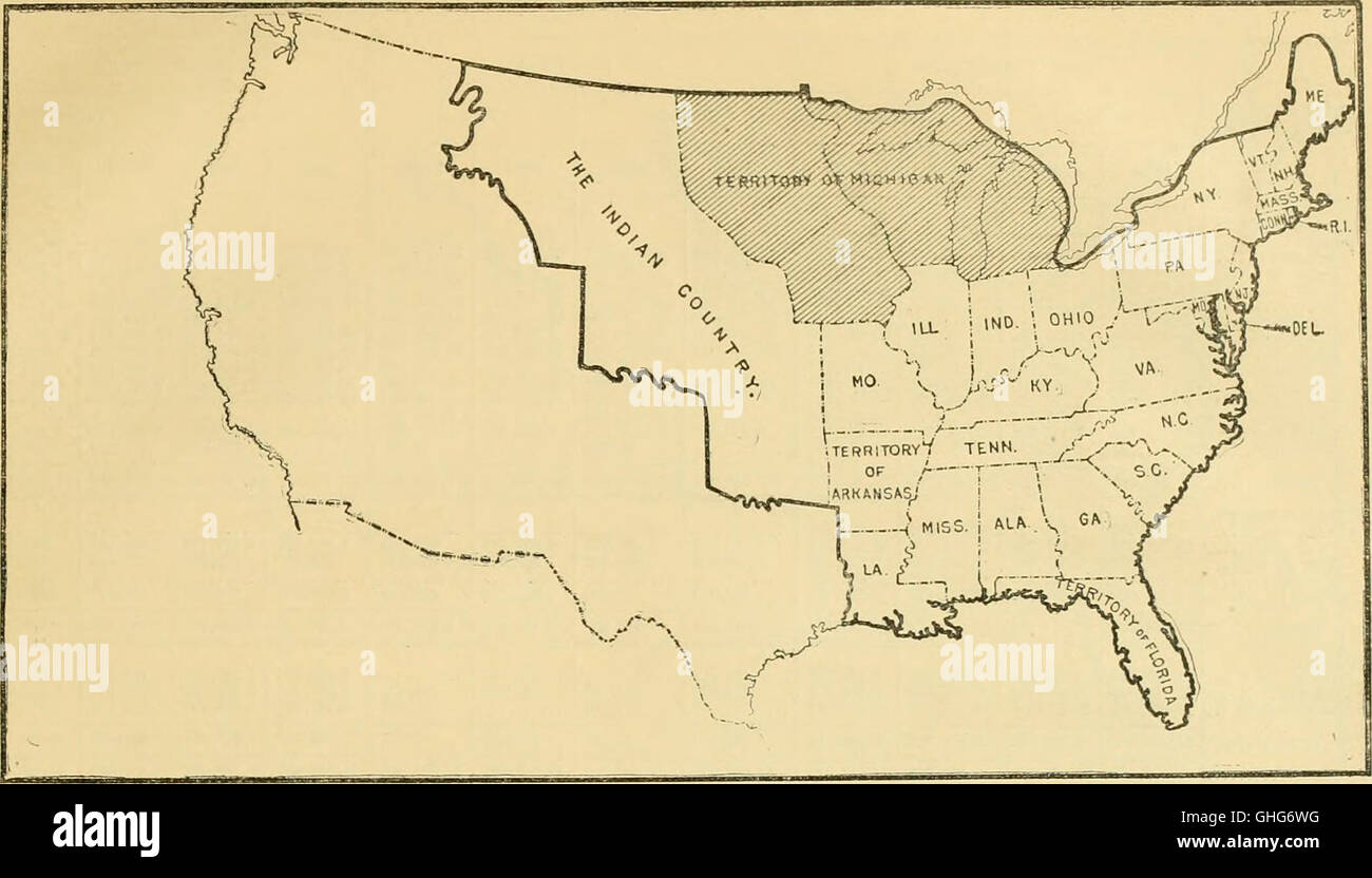 Stock Po Territorial Expansion Of The United States The Additions Made To The Territory Of The Thirteen Colonies And Its Transformation Into