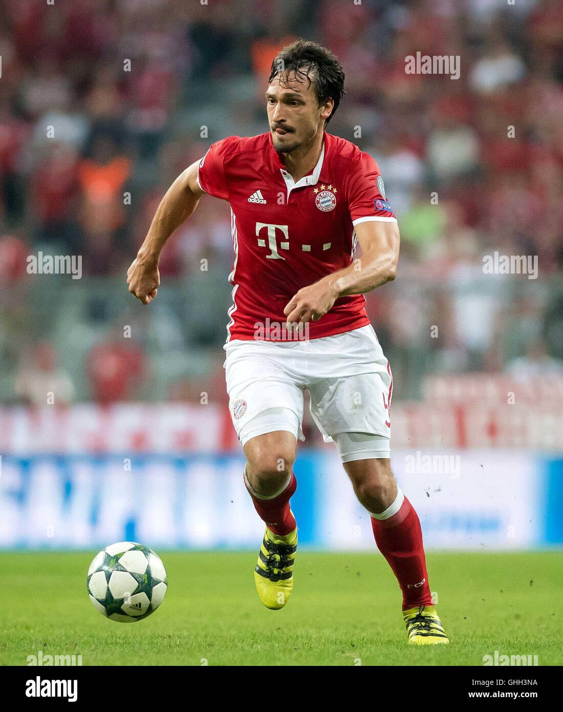 Munich Germany 13th Sep 2016 Bayern s Mats Hummels in action