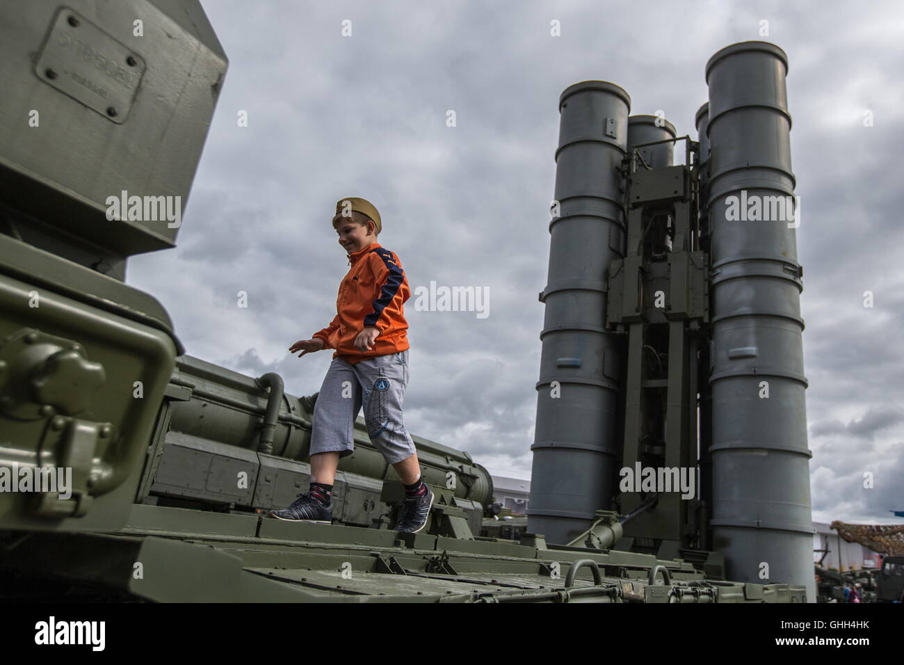 S 300 missile systems vs patriot - Moscow Region Russia September 9 2016 The S 300 Surface To Air Missile System Displayed At A Demonstration Of Military Machinery And Equipment At The