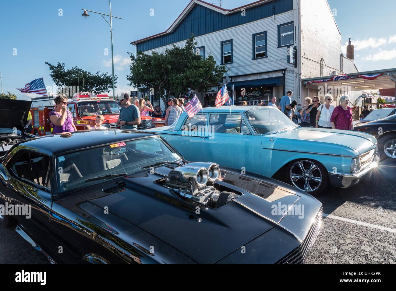 American Cars At Americarna Classic Car Show Inglewood New