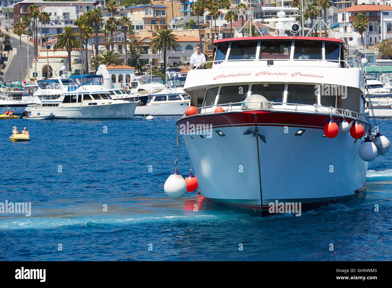 Catalina Classic Cruises Vessel Acting As A Shore Boat Ferries - Catalina cruises