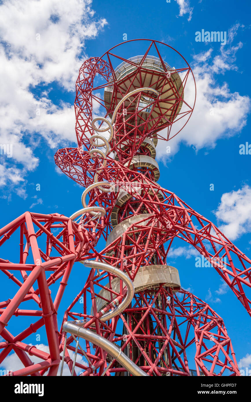 Arcelormittal orbit created by anish kapoor and cecil balmond arcelormittal orbit created by anish kapoor and cecil balmond symbol of queen elizabeth olympic park and london 2012 games buycottarizona