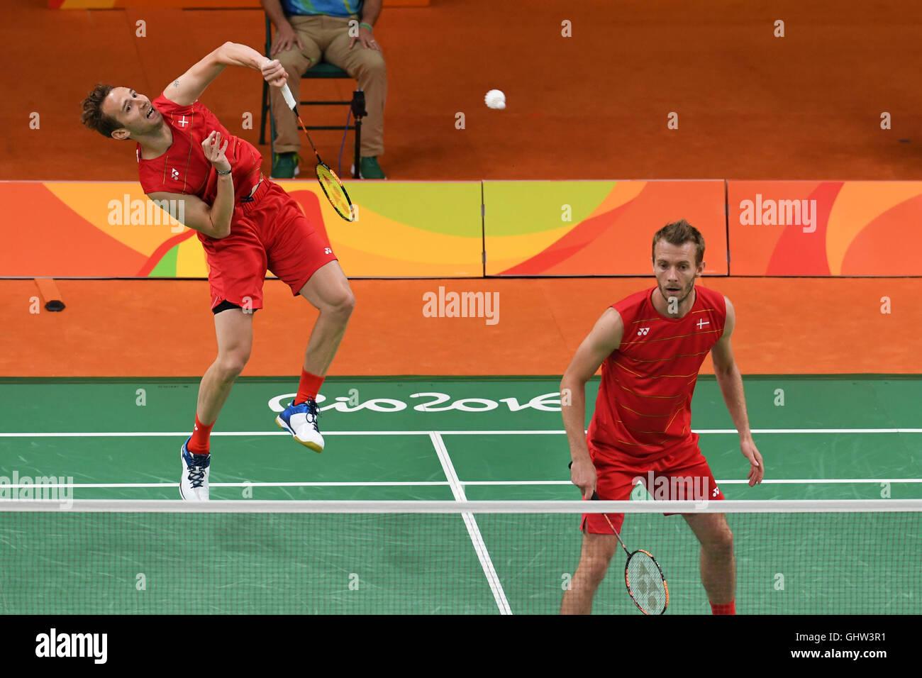 Rio de Janeiro Brazil 11th August 2016 Badminton Mathias BOE