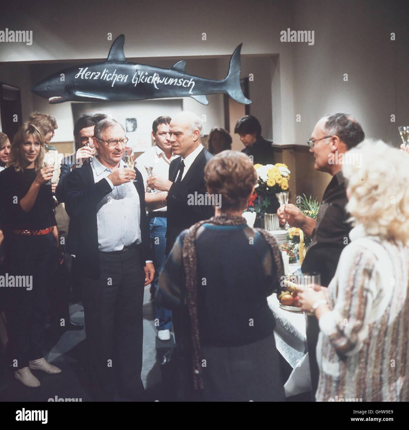 Toll SOKO 5113 Zellmann (ROLF SCHIMPF) Feiert Seinen 50. Geburtstag Foto Vlnr.: