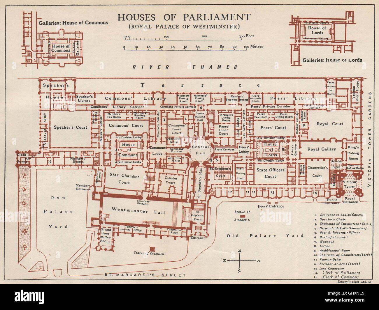 Houses of parliament layout
