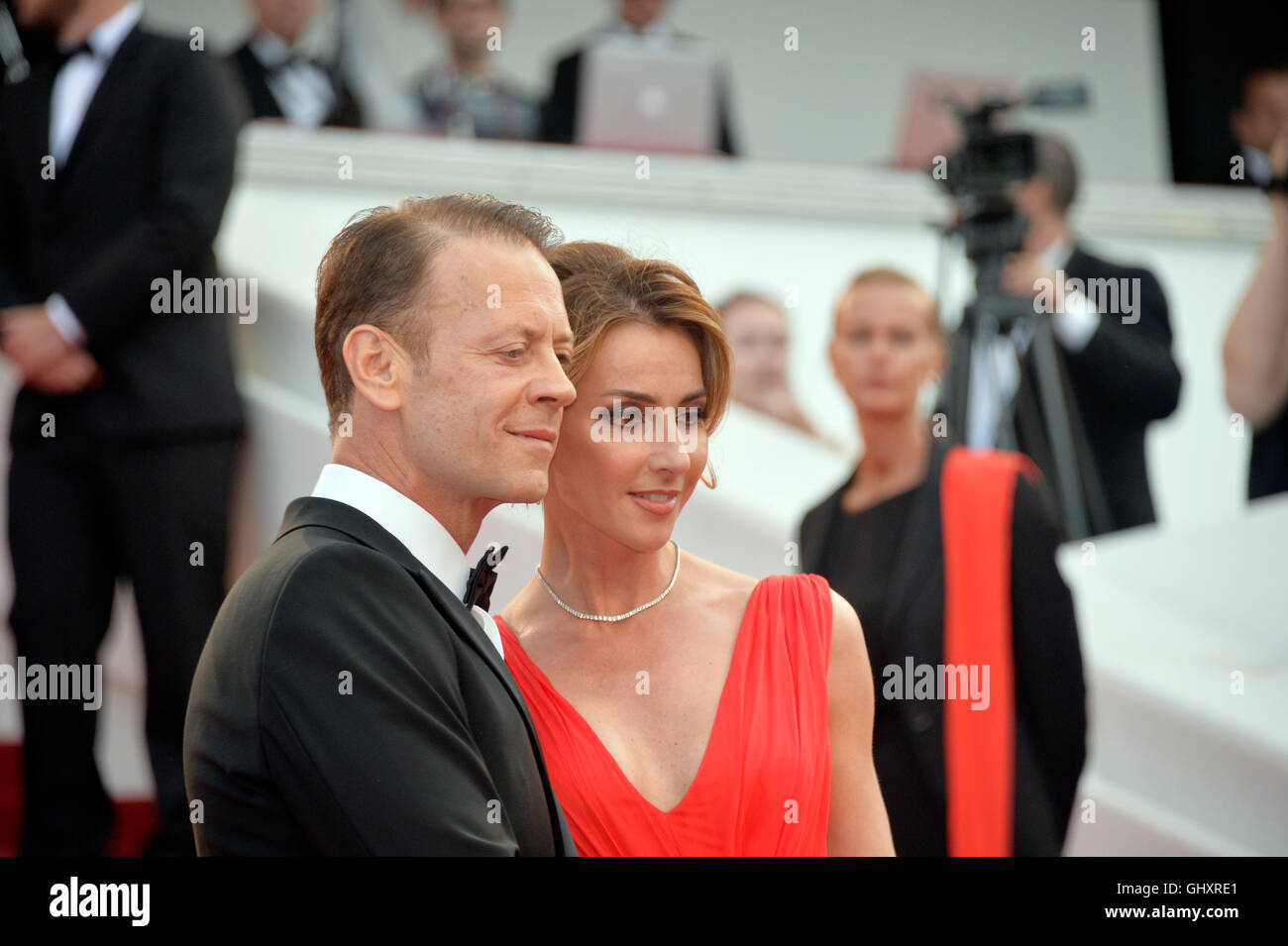 69th cannes film festival rocco siffredi and rozsa tassi walking up stock photo 114300537 alamy. Black Bedroom Furniture Sets. Home Design Ideas