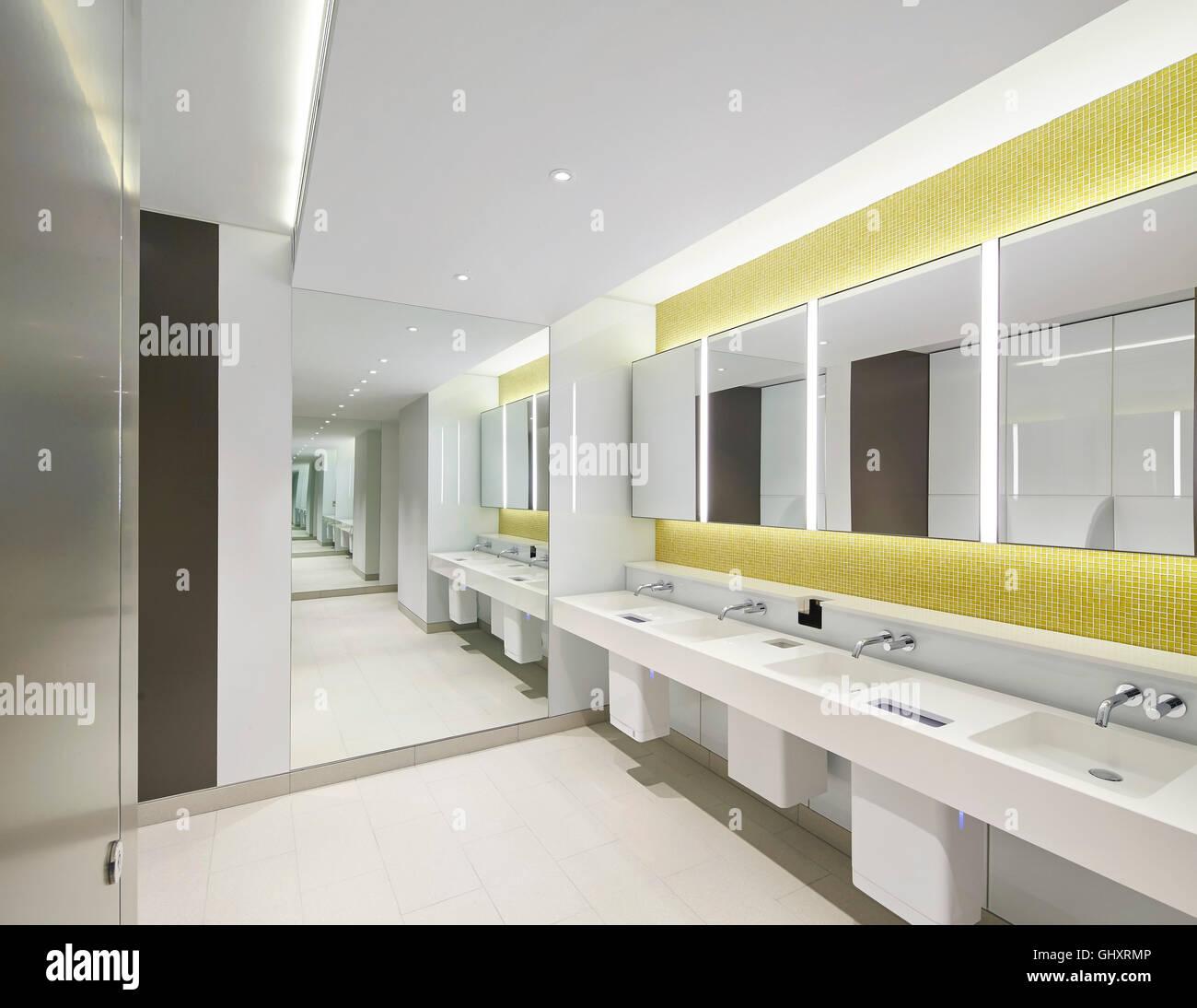 Washroom interior. 70 Mark Lane - City of London, London, United ...