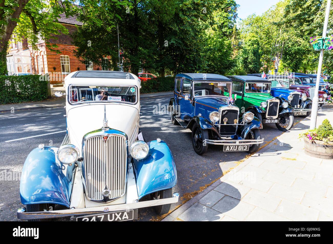 Classic cars car show antique Morris Bedford cars display classics ...