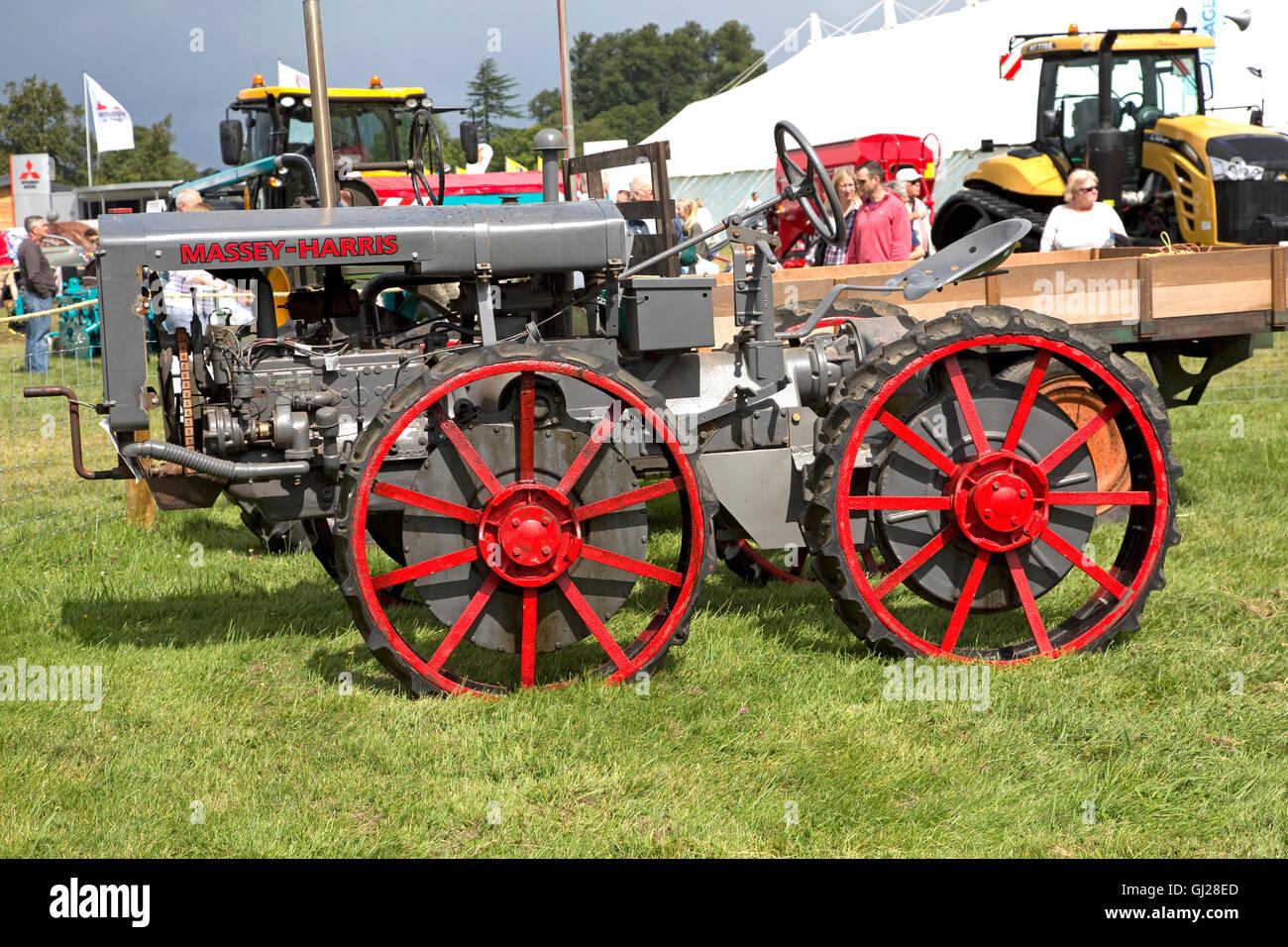 Antique Tractors 4 Wheel Drive : Massey harris gp early wheel drive vintage tractor