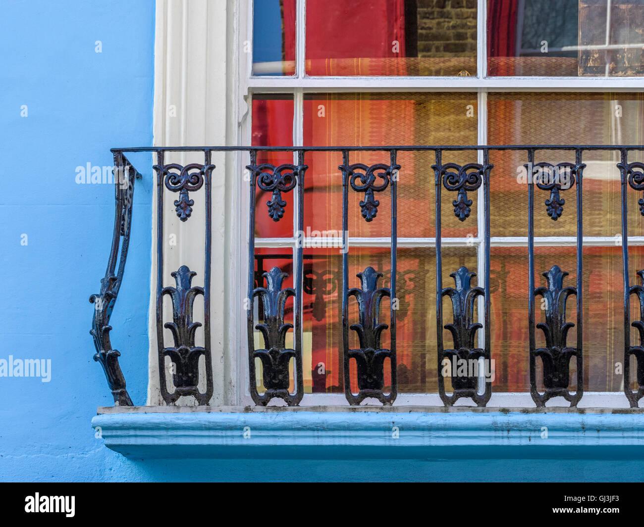 Notting Hill Apartments, London England Stock Photo, Royalty Free ...