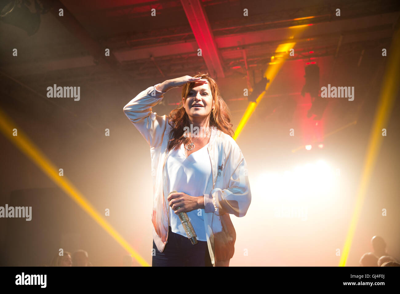 Andrea berg 2016 hd image free - 11th Aug 2016 Schlager Singer Andrea Berg Performing During A Club Concert At Glashaus In Berlin Germany 11 August 2016