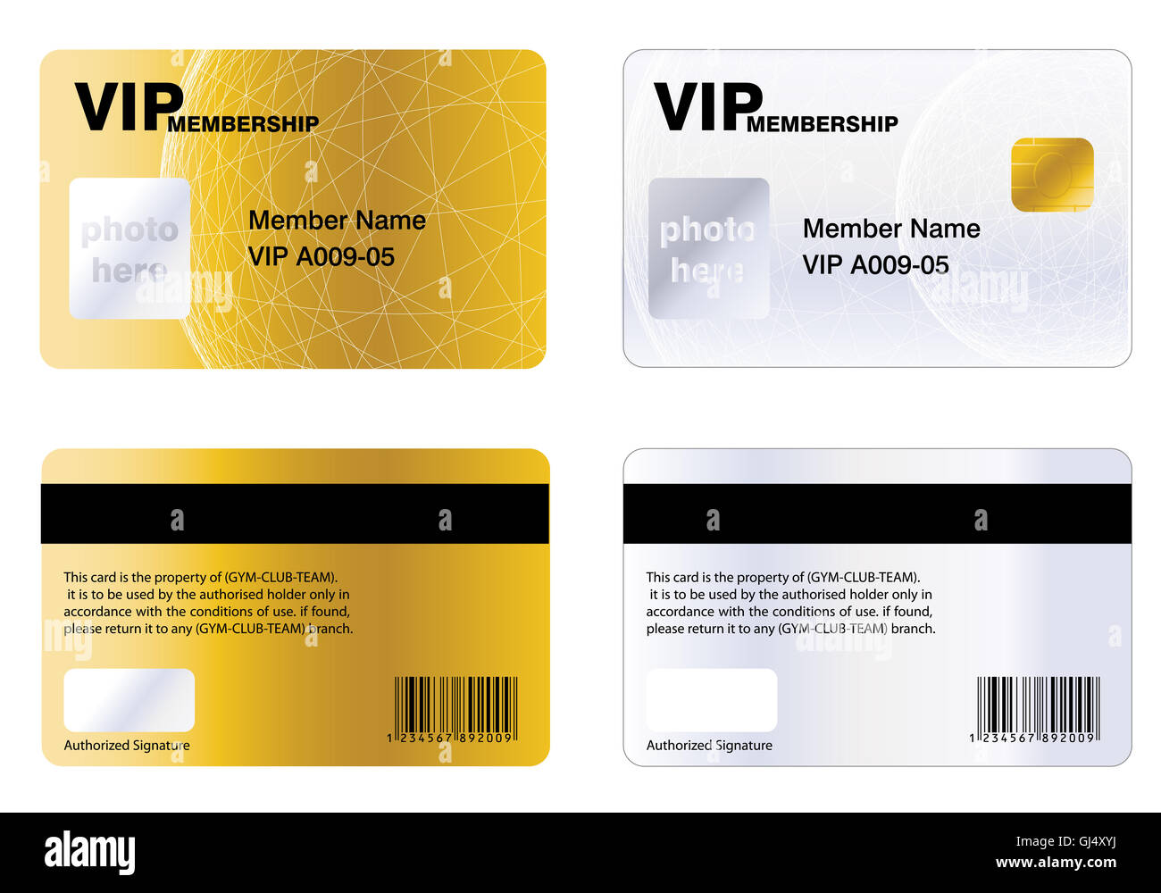 Great VIP MEMBERSHIP CARD