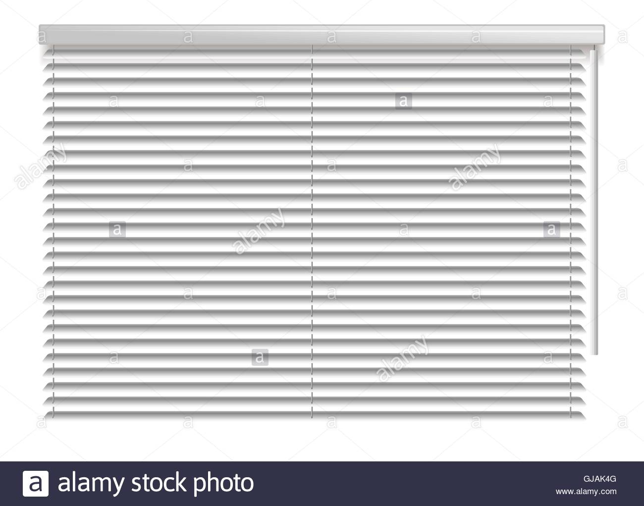 office window blinds. Office Interior Blinds. Window Decor. Horizontal Blind. Vector Illustration. Grey Blinds T
