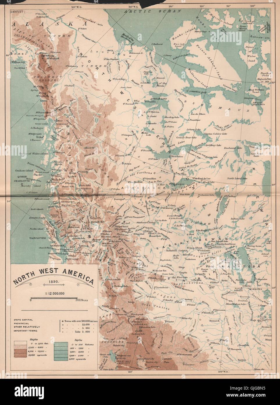 North West Us Plant Hardiness Zone Map Mapsofnet Northwestern - Railway map usa 1890