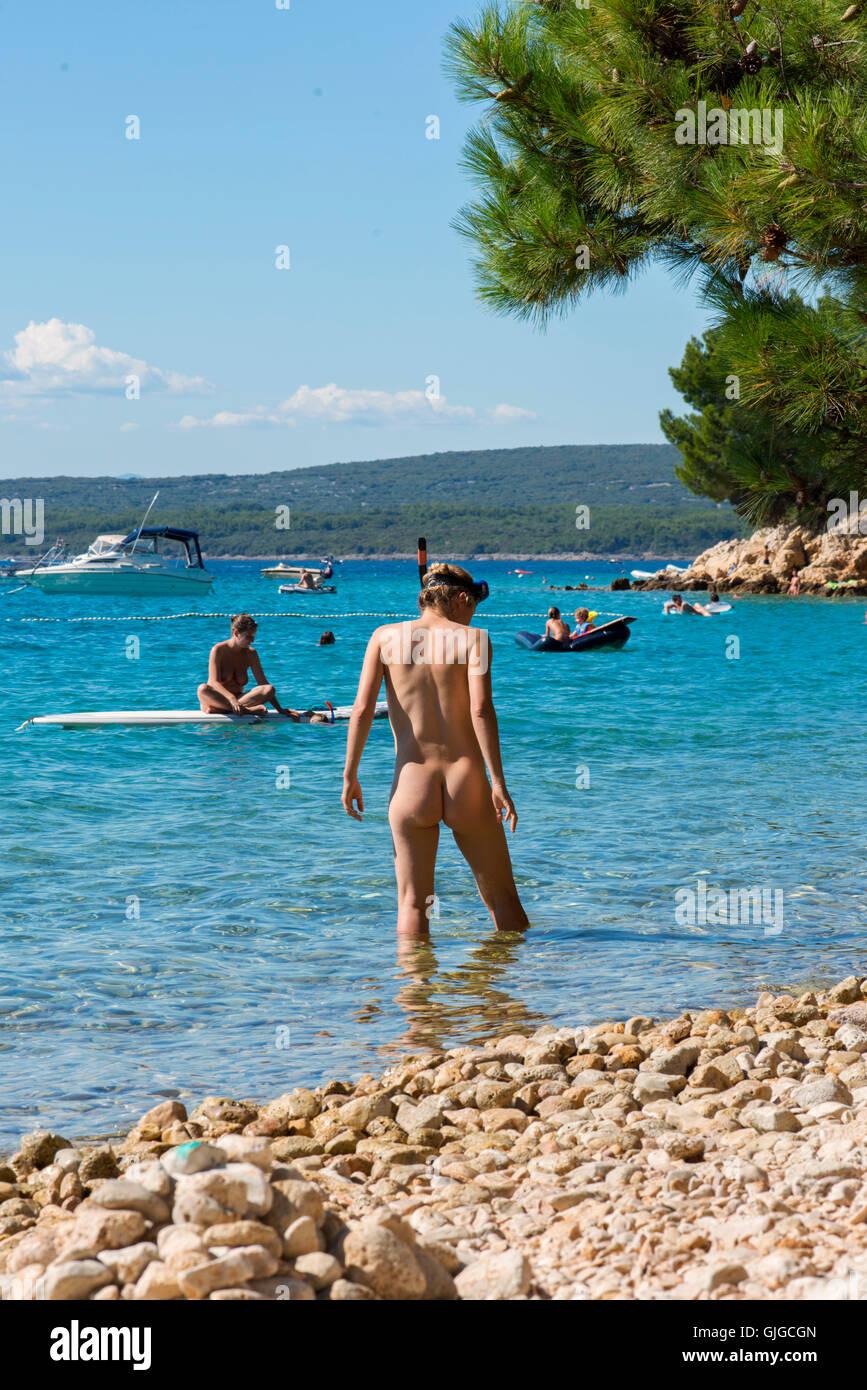 Nude In Croatia 57