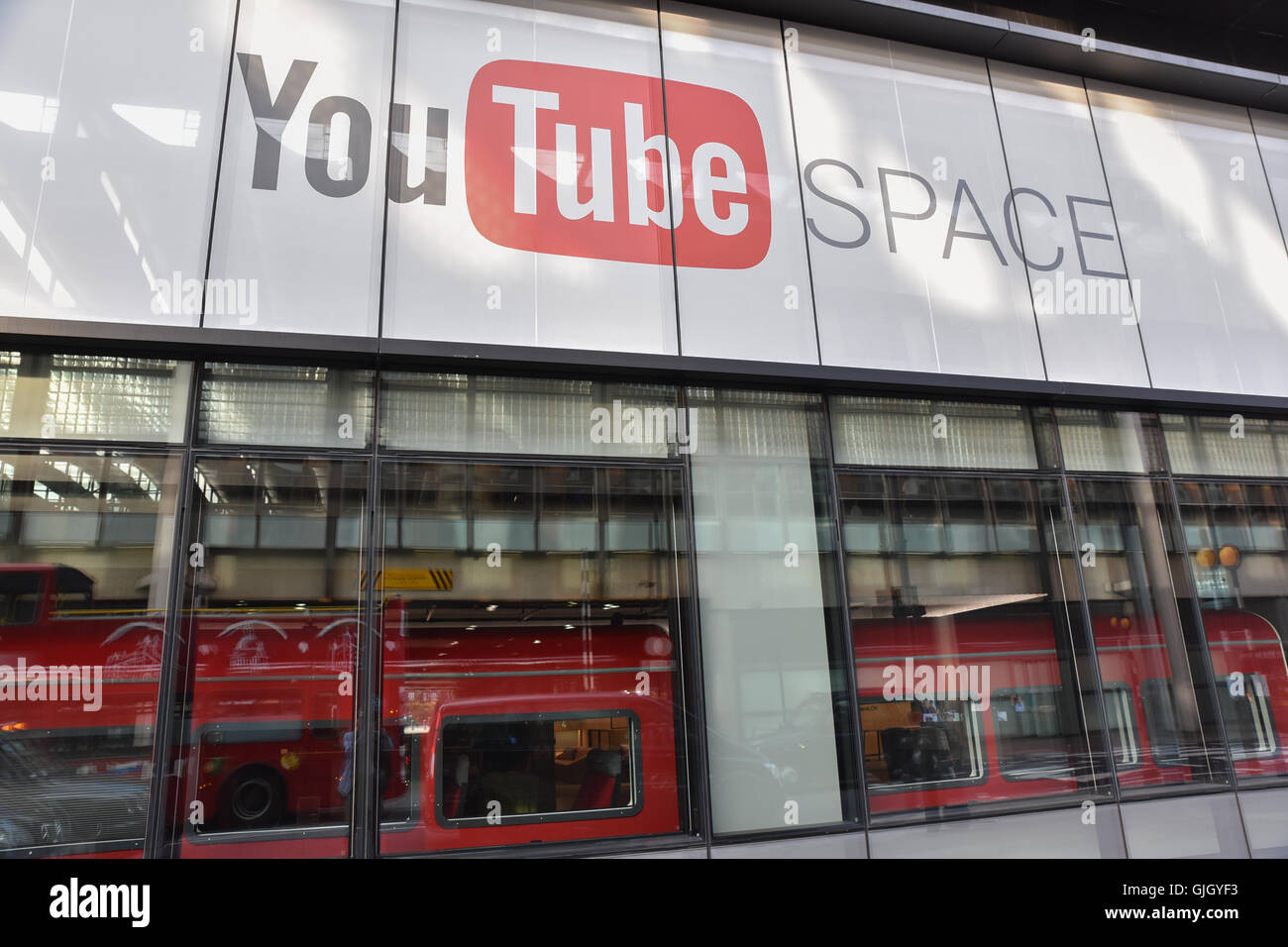 Youtube Offices kings cross, london, uk. 16th august 2016. new youtube space at