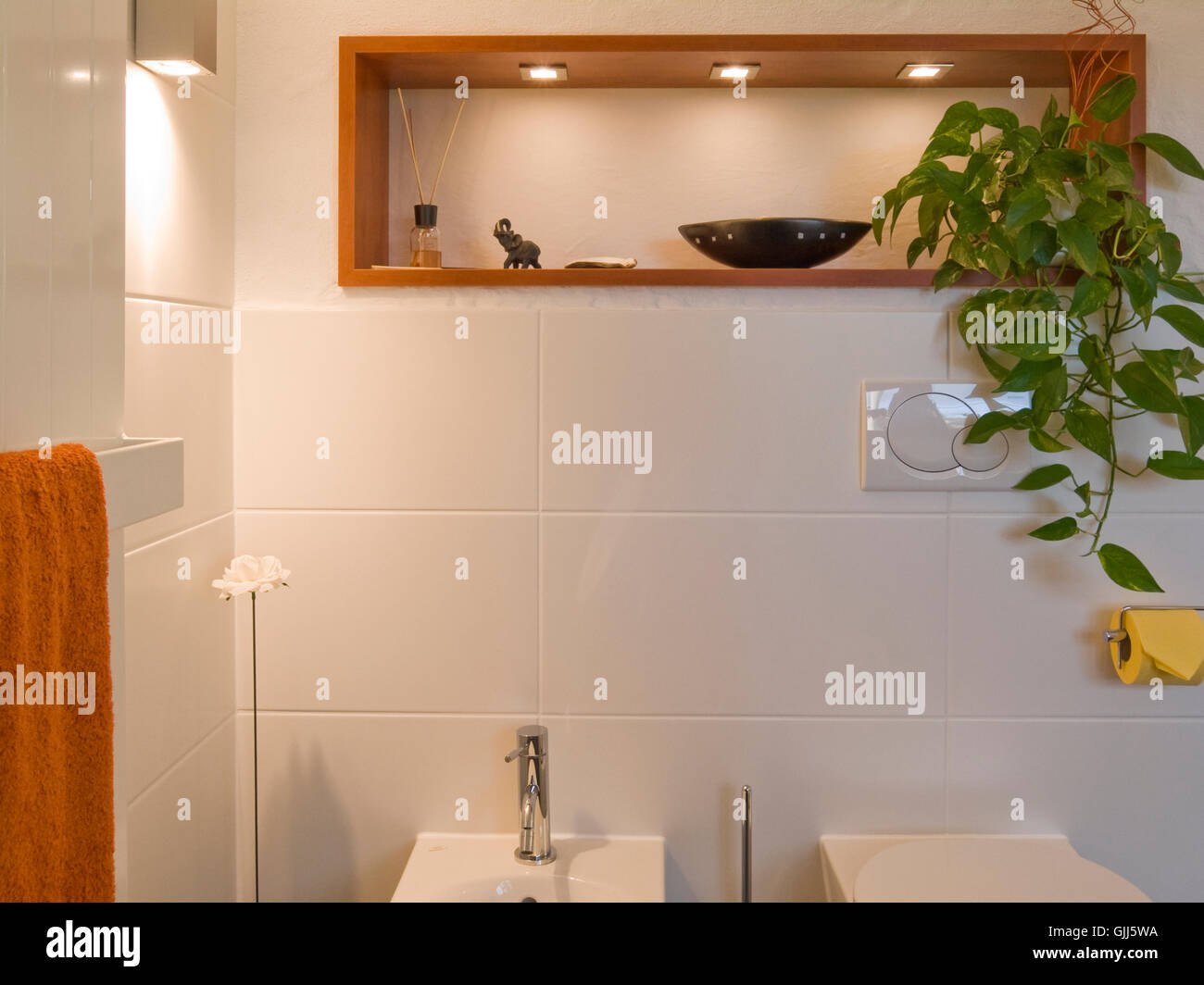 Bidet Bad bad modern toilet bidet shelf frontal stock photo 114725782 alamy