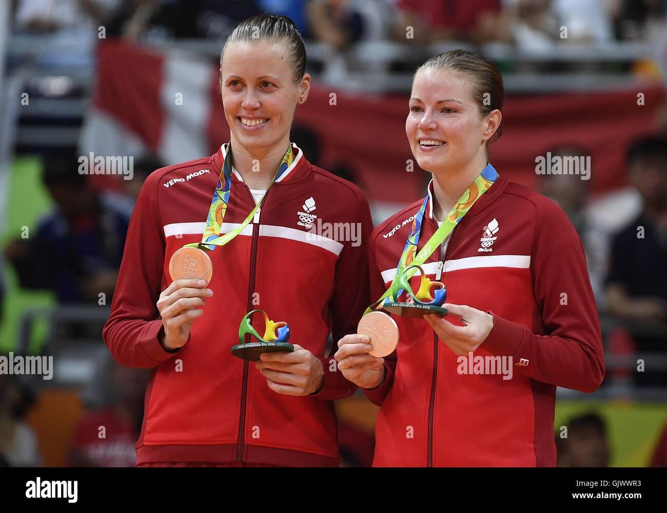Rio De Janeiro Brazil 18th Aug 2016 Denmark s Christinna