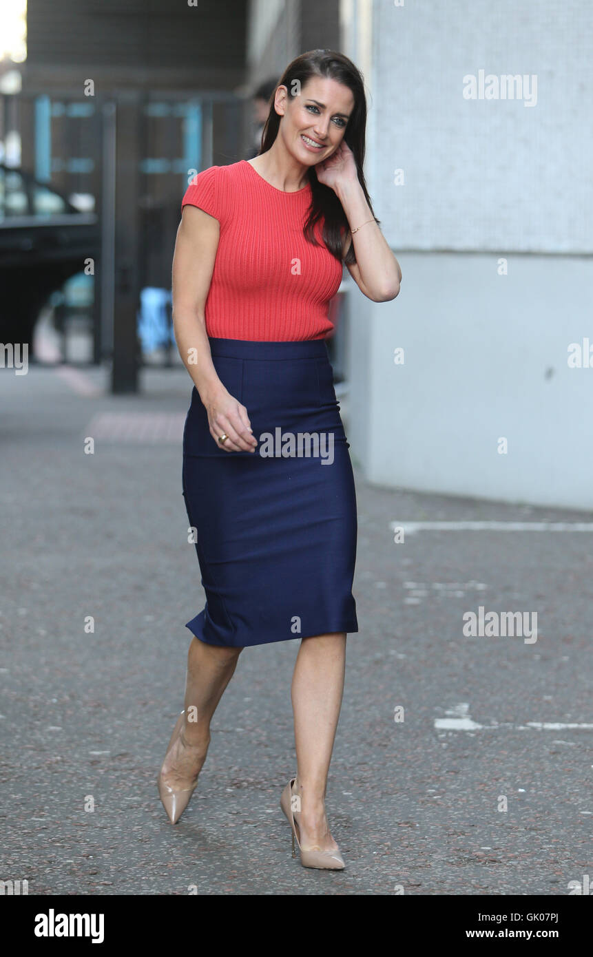 Kirsty Gallacher Outside Itv Studios Featuring Kirsty Gallacher Where London United Kingdom When