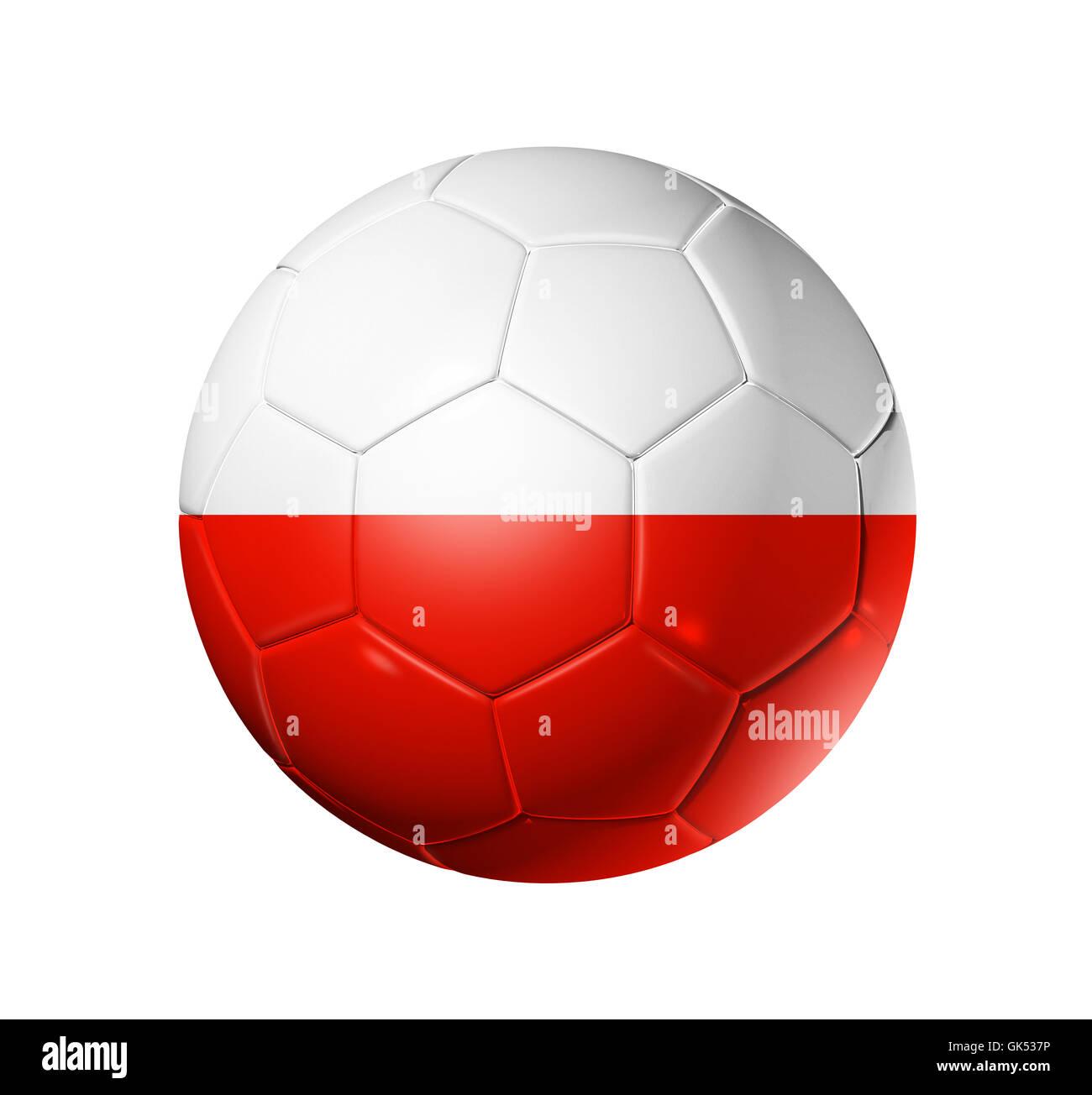 polish flag on football stock photos u0026 polish flag on football