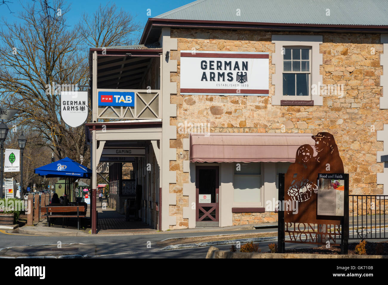 the german arms hotel in hahndorf in south australia 39 s. Black Bedroom Furniture Sets. Home Design Ideas