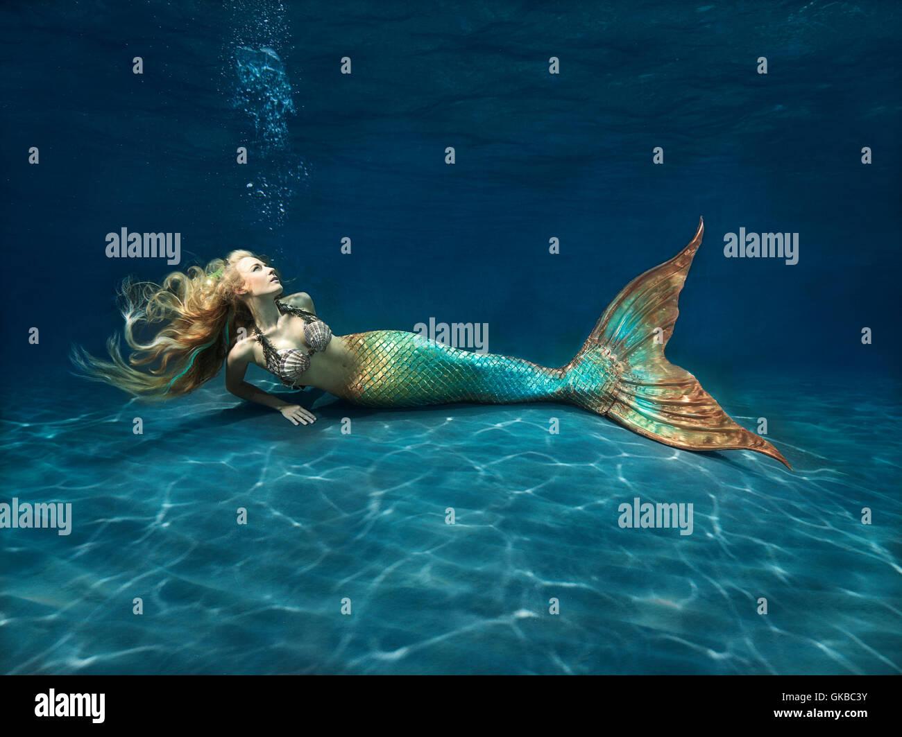 Blonde Mermaid 60