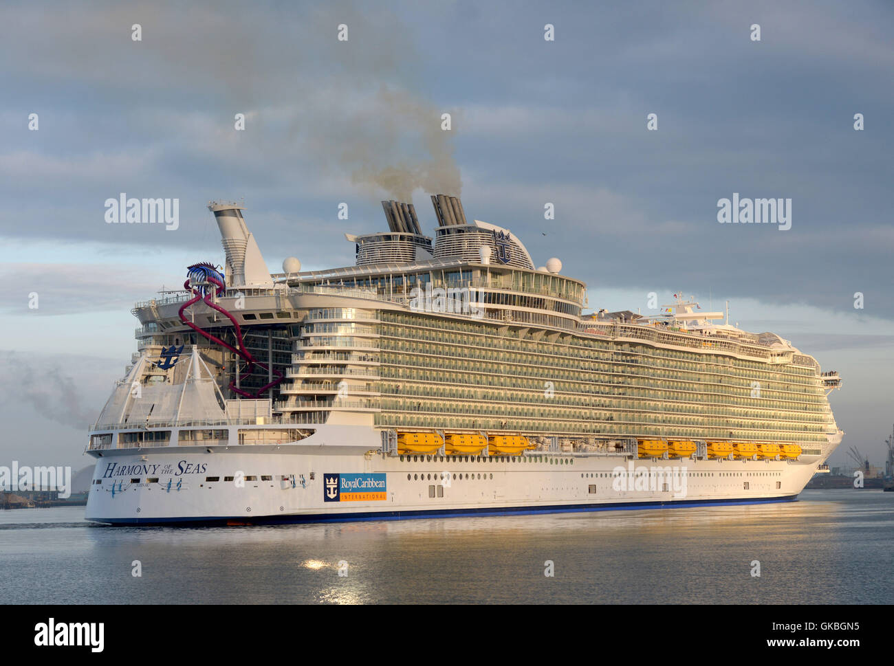 Harmony Of The Seas The Worlds Largest Cruise Ship Arrives At Her - Harmony cruise