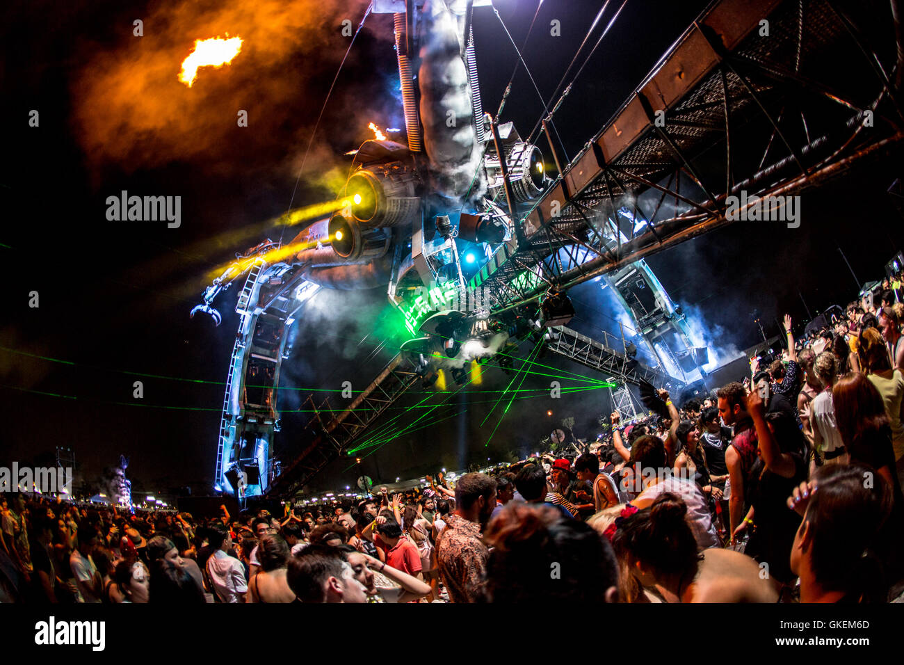 Archive Images Of Arcadia At Various Festivals Around The Globe Featuring Where Glastonbury Boomtown Bangkok United Kingdom When 26 May 2016