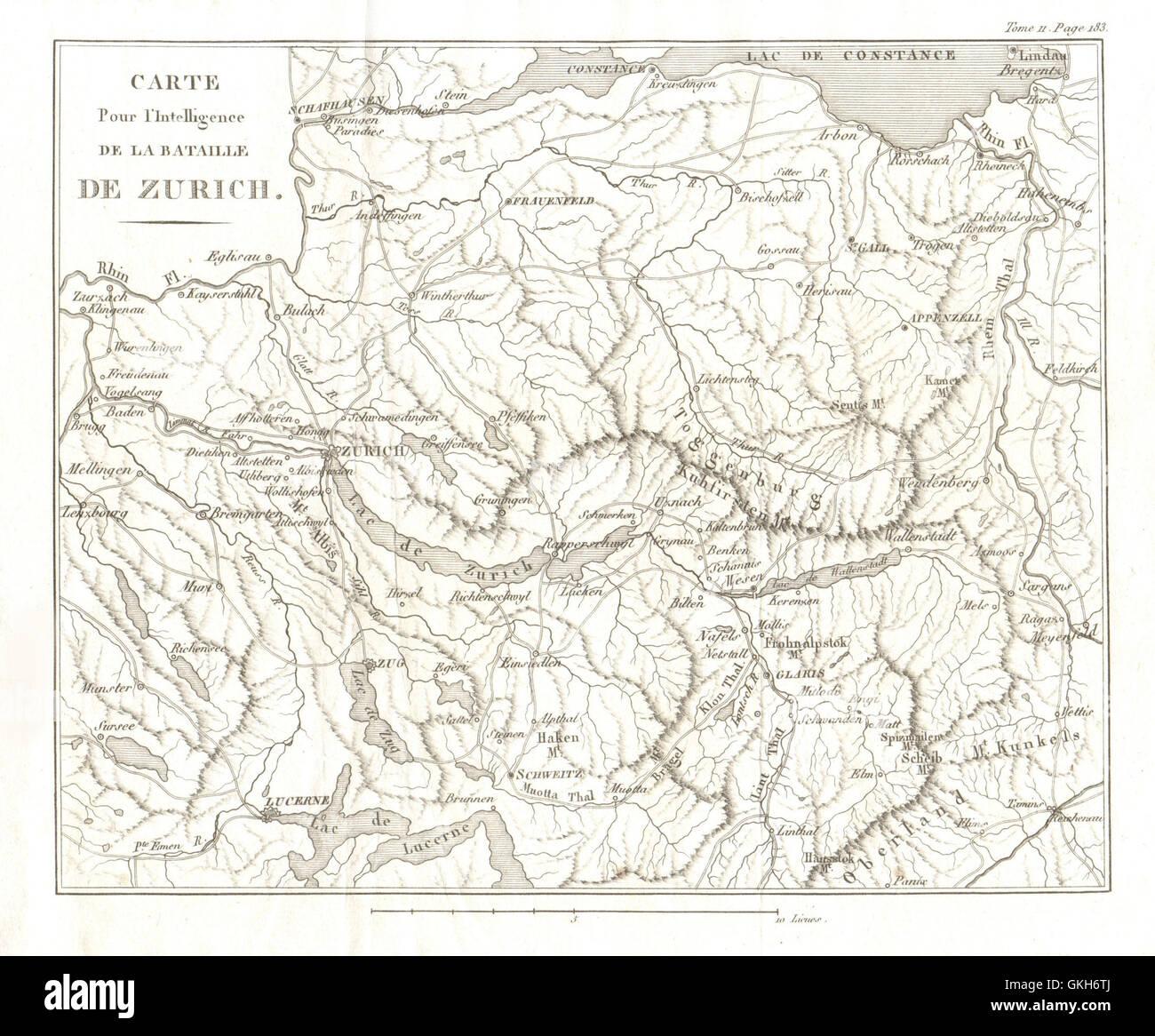 CENTRAL SWITZERLAND Zurich Thurgau St Gallen Glarus Schwyz Zug