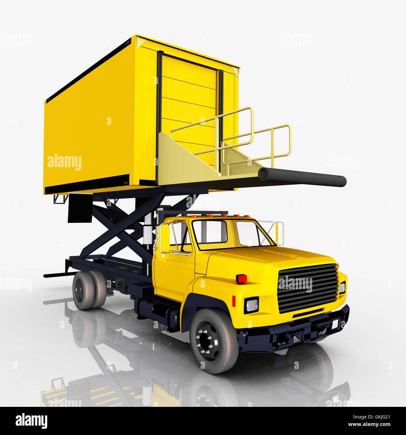 Airport Catering Truck Stock Photo Royalty Free Image 115348409