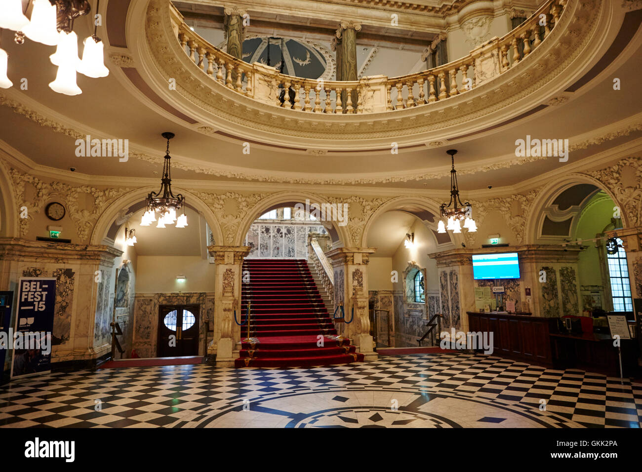 The Grand Staircase Foyer Entrance Hall And Rotunda