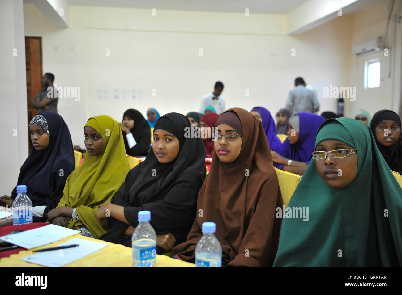 Round table discussion students - Stock Photo University Students Attend A Roundtable Discussion On Somali Women S Leadership Roles In Peace Building Initiatives And Mentoring On Equal