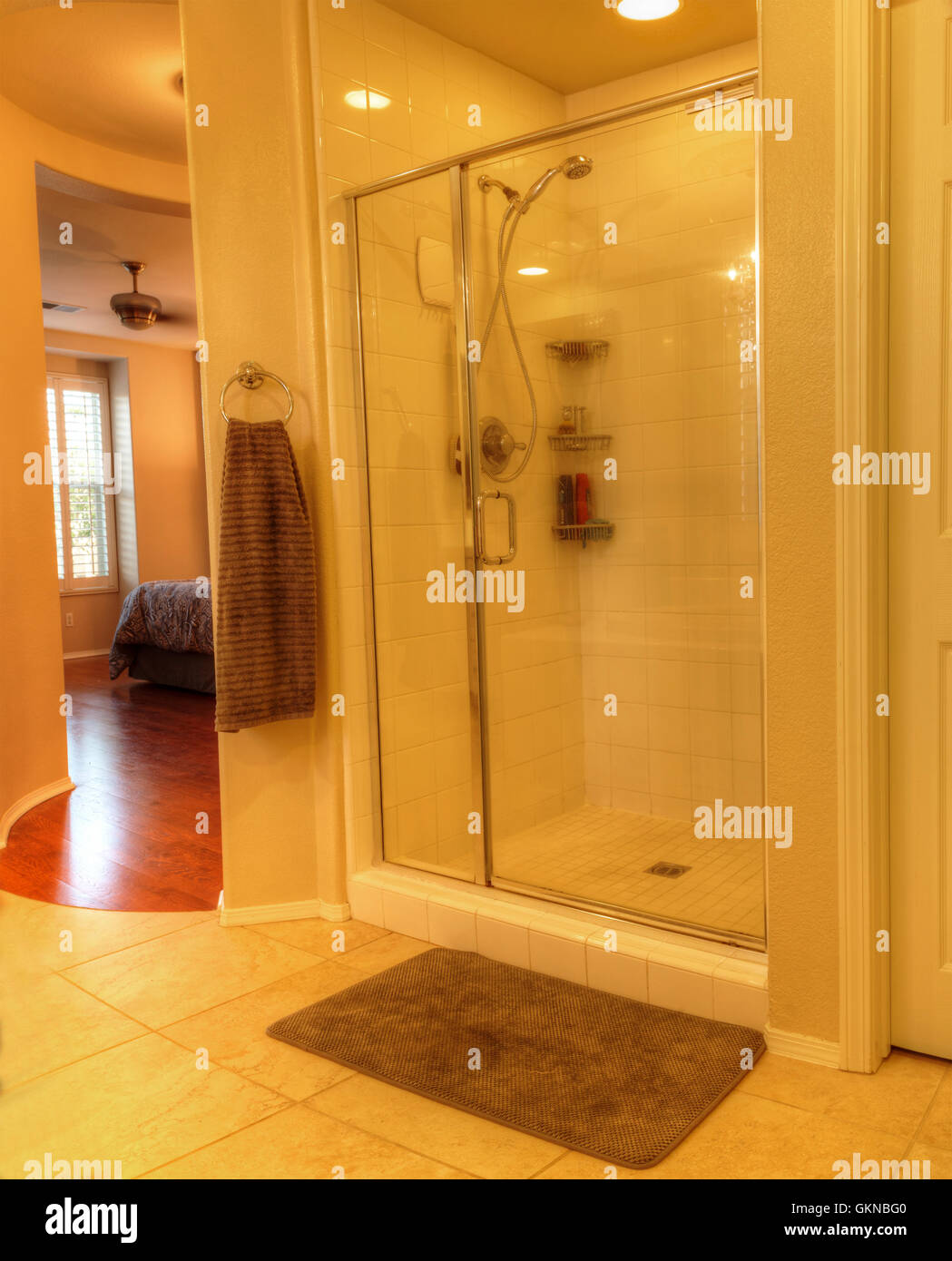 Bathroom Fixtures Irvine Ca irvine, ca, usa – august 19, 2016: shower with a glass door in a