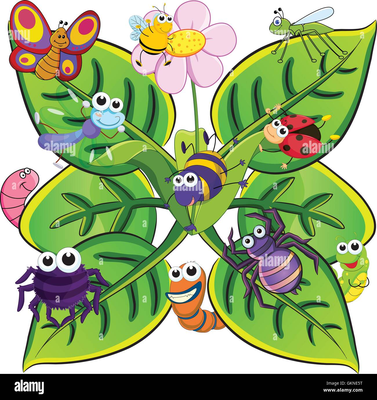 butterfly animals ants cartoon insect bee leaf graphics graphic
