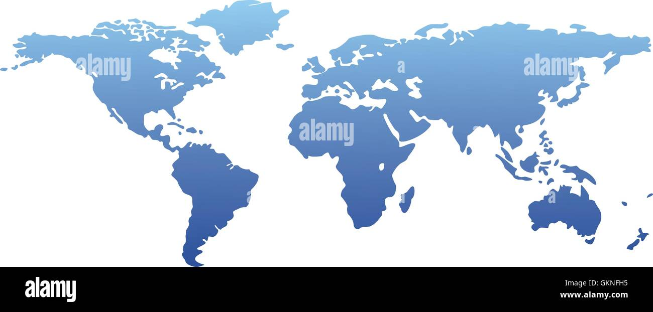 Blue Isolated Illustration Countries Globalization Globe Planet - World geography countries