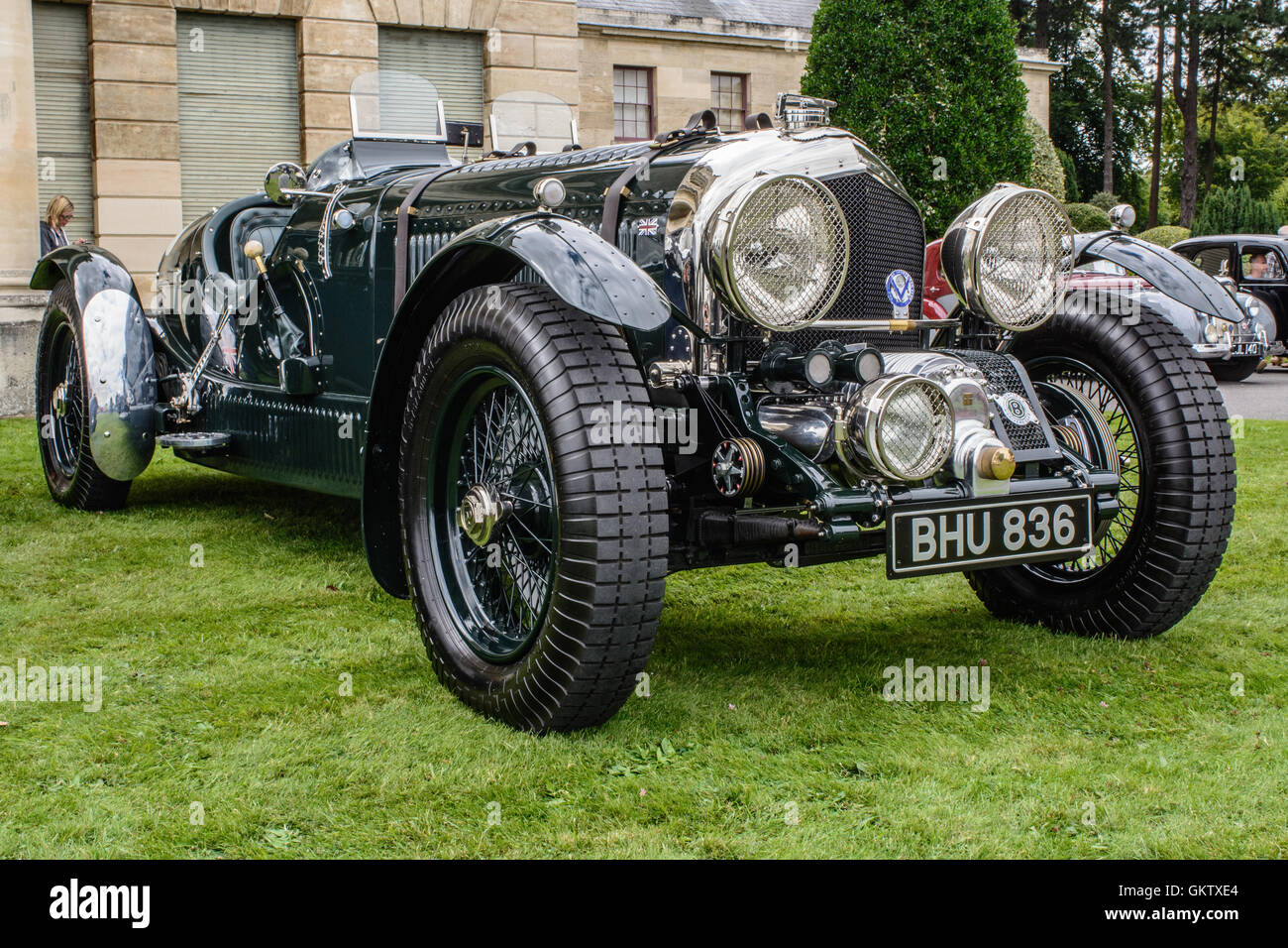 Vintage Bentley Rally Stock Photos Vintage Bentley Rally Stock