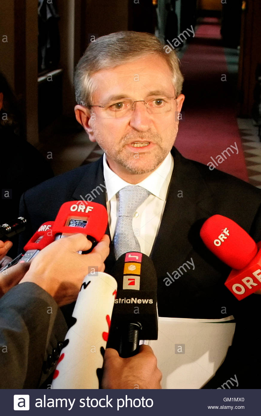 s finance minister wilhelm molterer answers journalist s s finance minister wilhelm molterer answers journalist s questions as he attends a meeting in vienna 29 2008