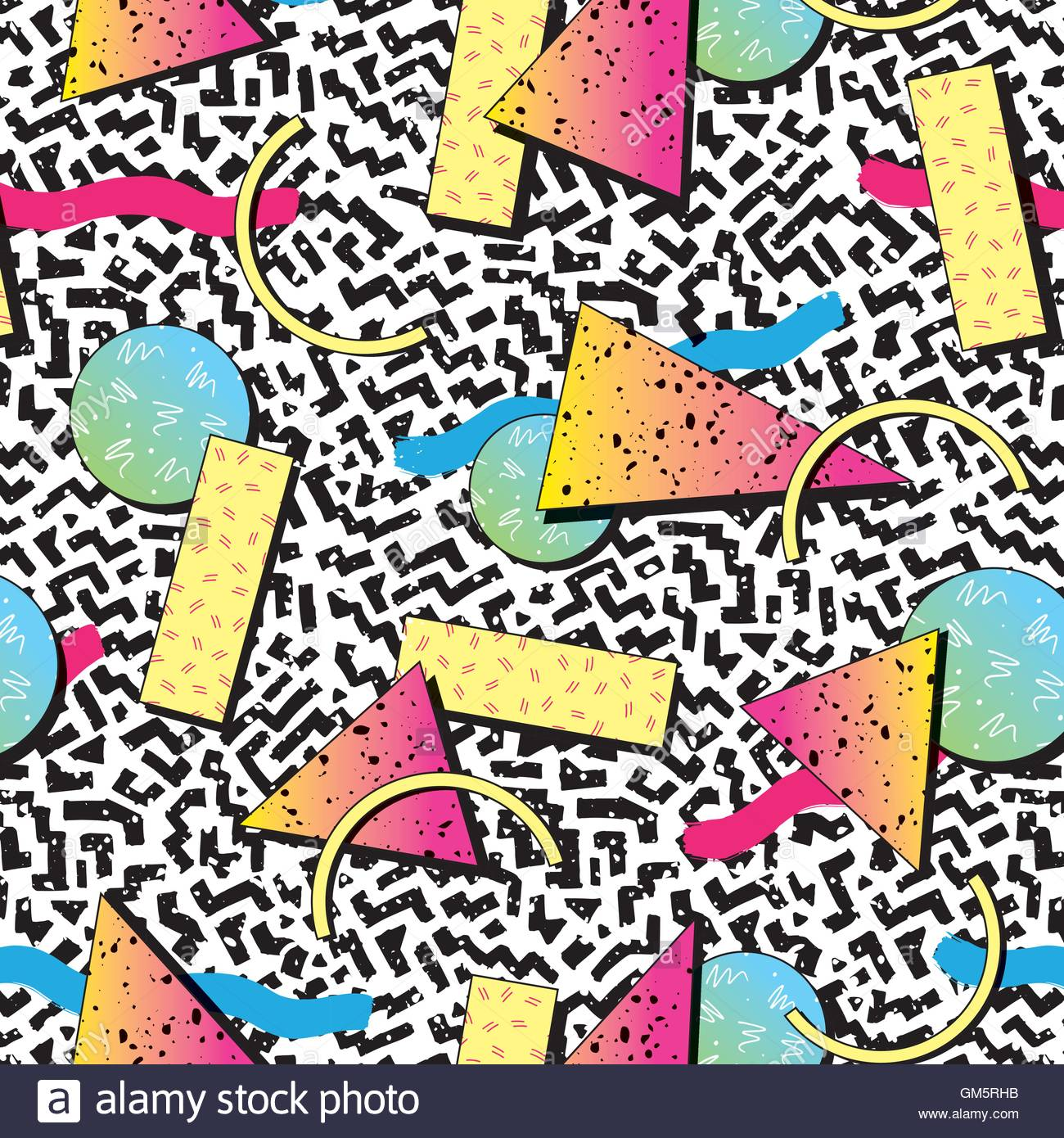 Vibrant And Colourful Patterns Inspired By The Graphic