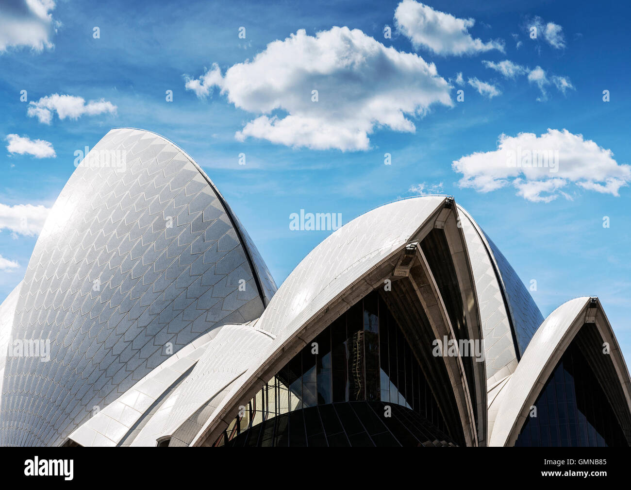 famous sydney opera house landmark modern architecture detail in ...